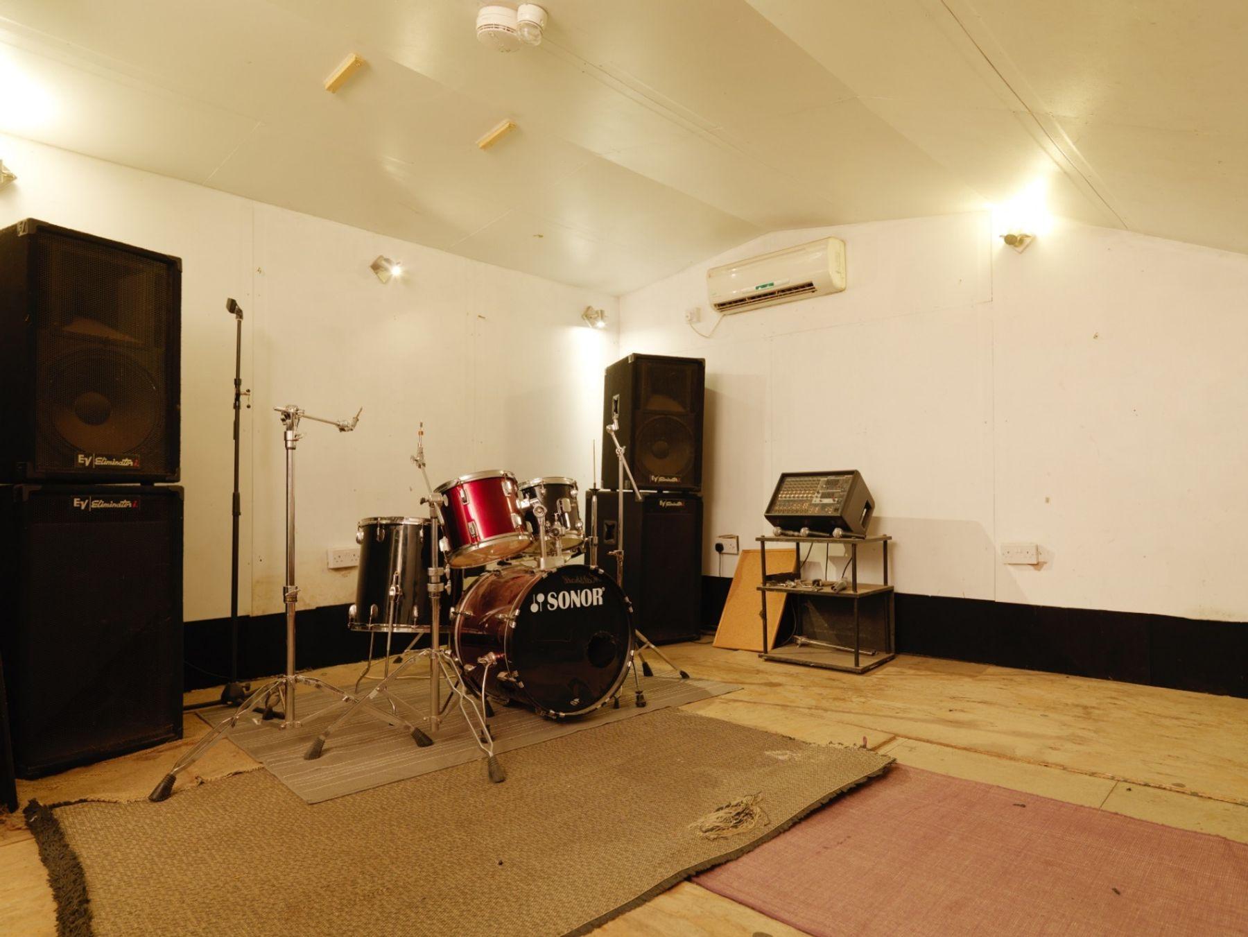 BonaFide Studios - isolated rehearsal room (Muswell Hill)