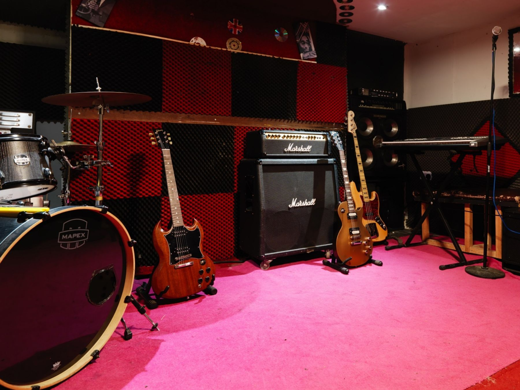 Rehearsal room - night time
