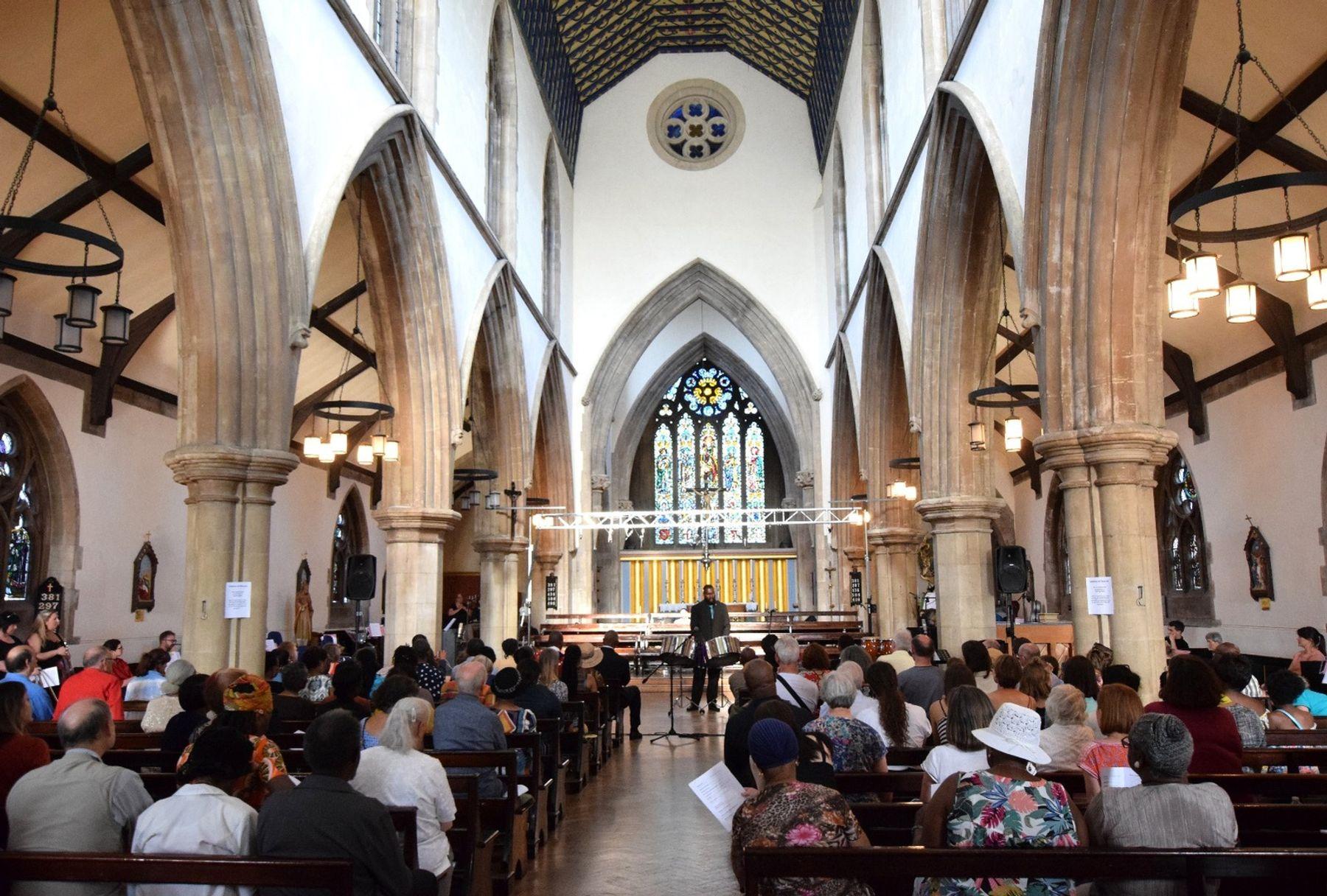 Grade I-listed St Matthias Church, Stoke Newington