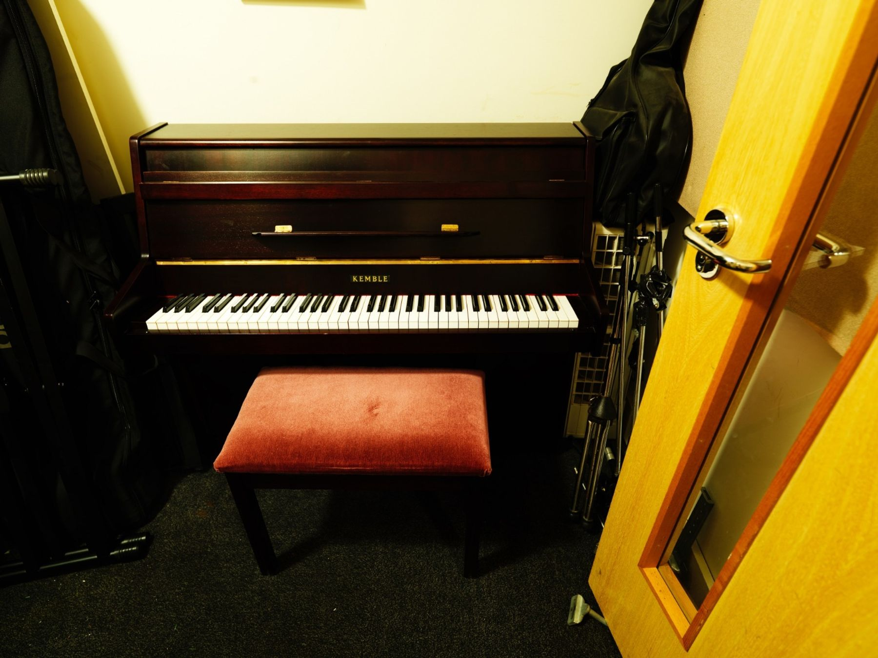 Piano studio hire - Studio 3