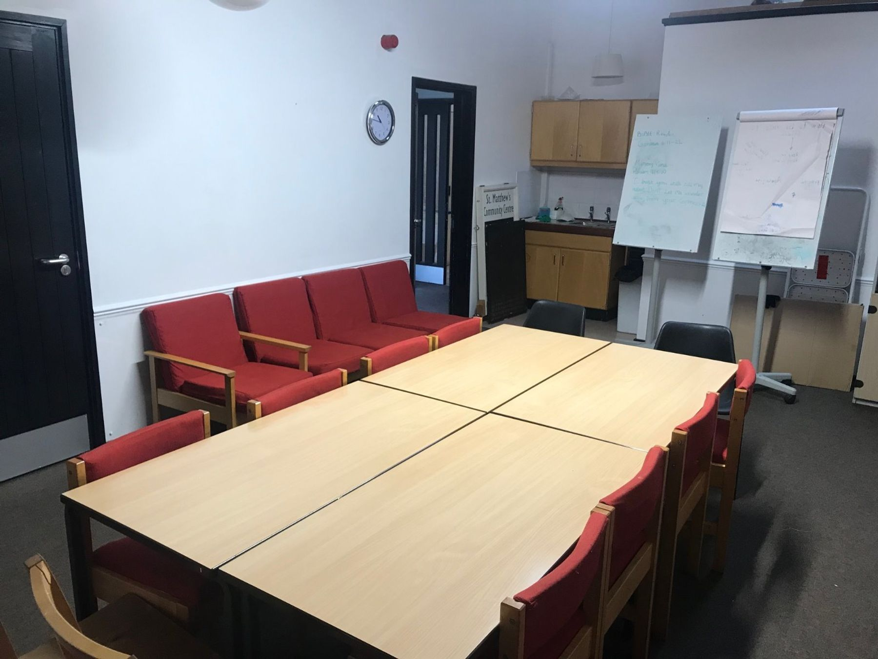 Hall & Meeting room space at St Matthews at the Elephant & Castle