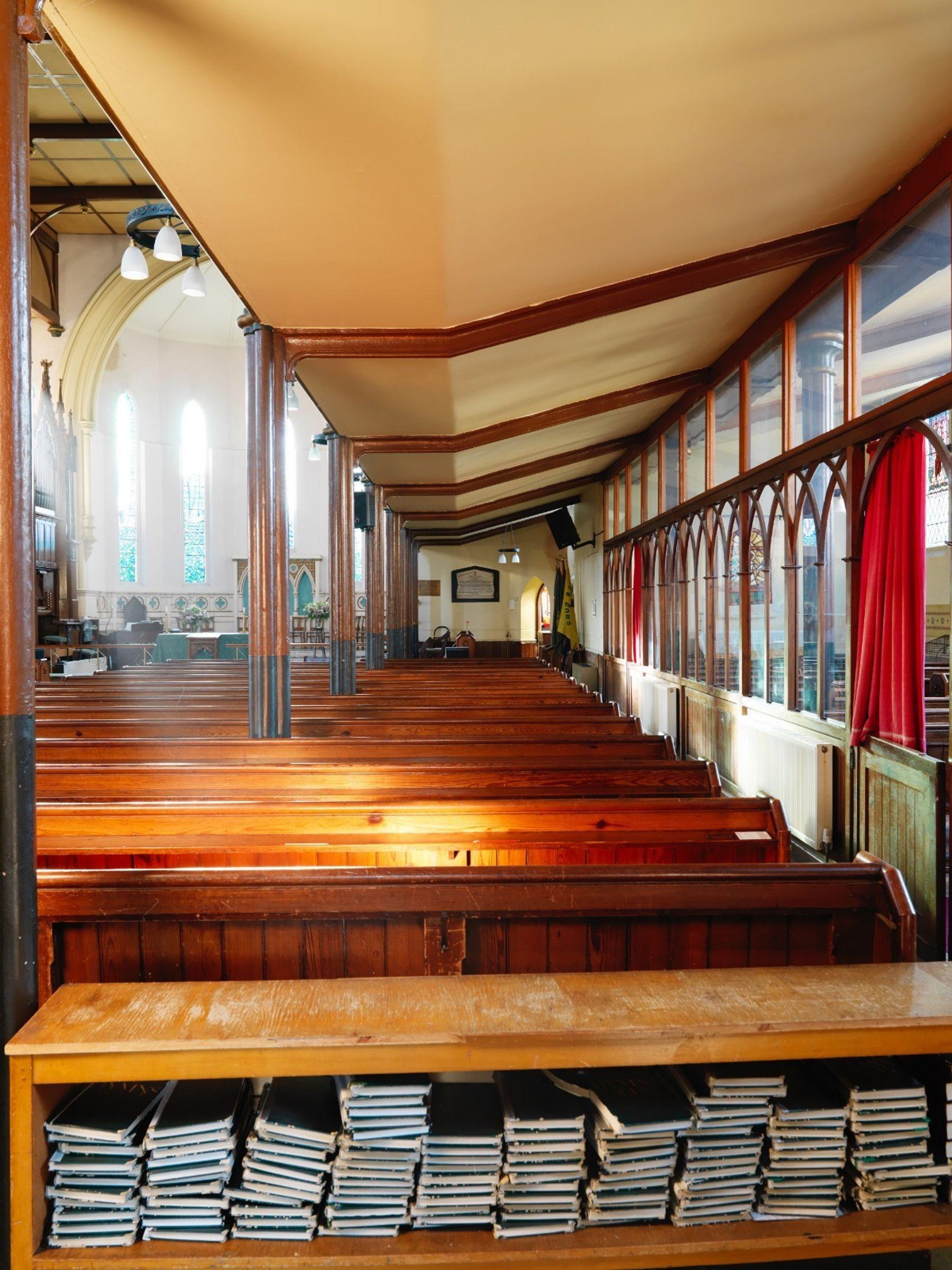 Heated church hall with lovely acoustics