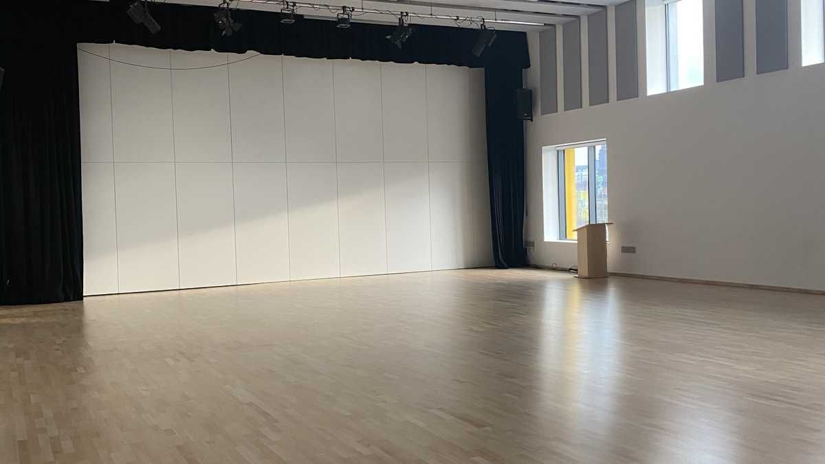 Main hall - secondary