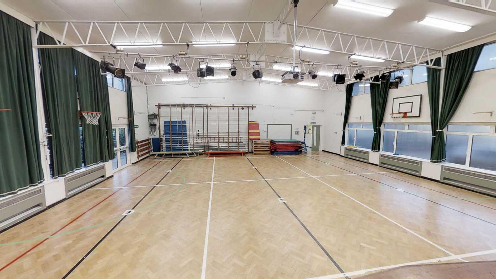 Sporting hall