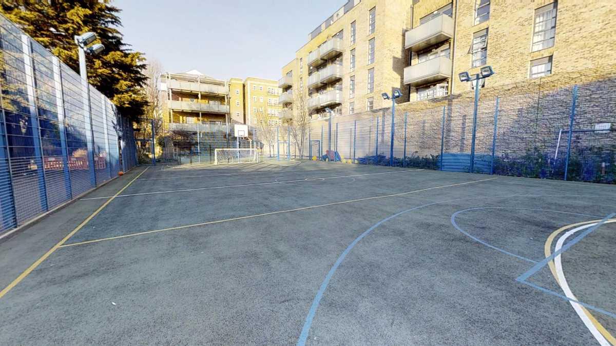 Football and Basketball pitch