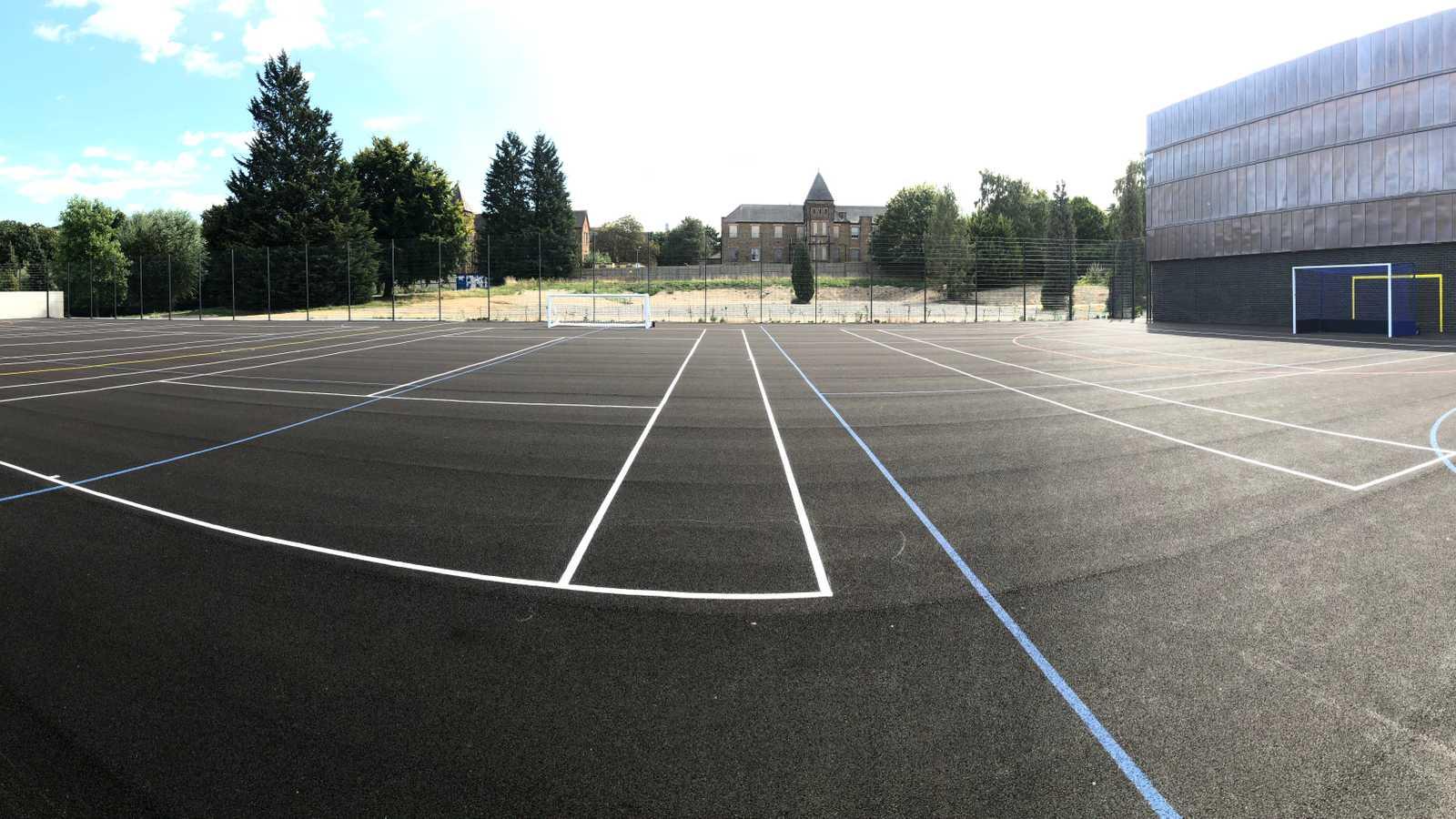 Multi use sports area
