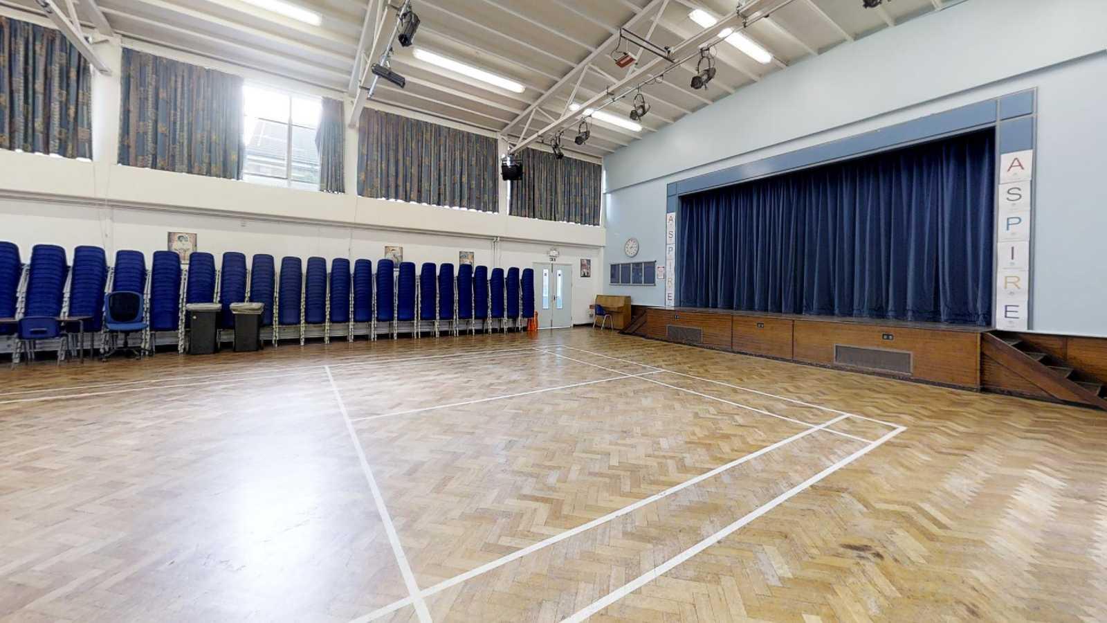 Wiseman main hall