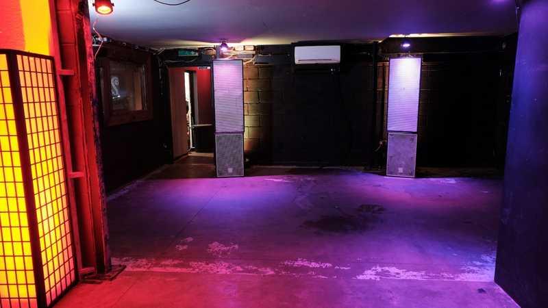 DJ Booth/Dance floor/club venue