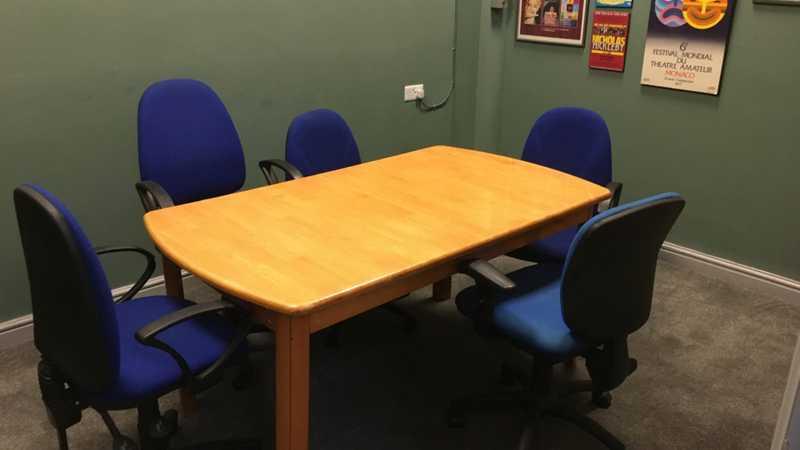Comfortable meeting room