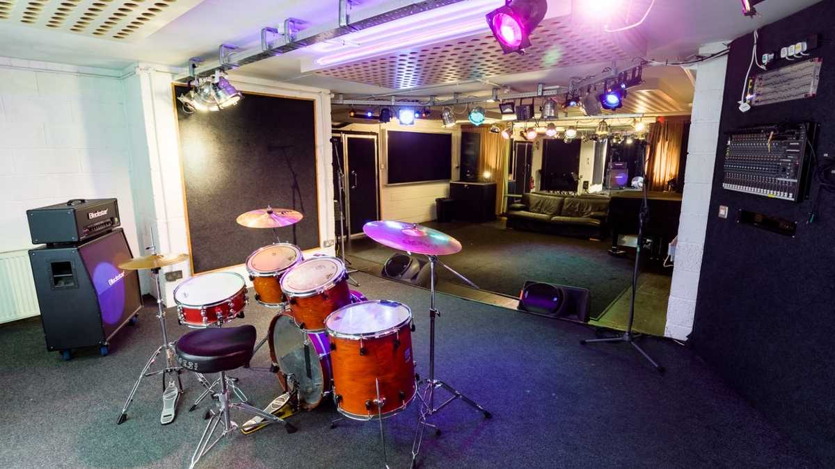 Premises studio 1 - Dry hire only (backline & pianos cost extra)