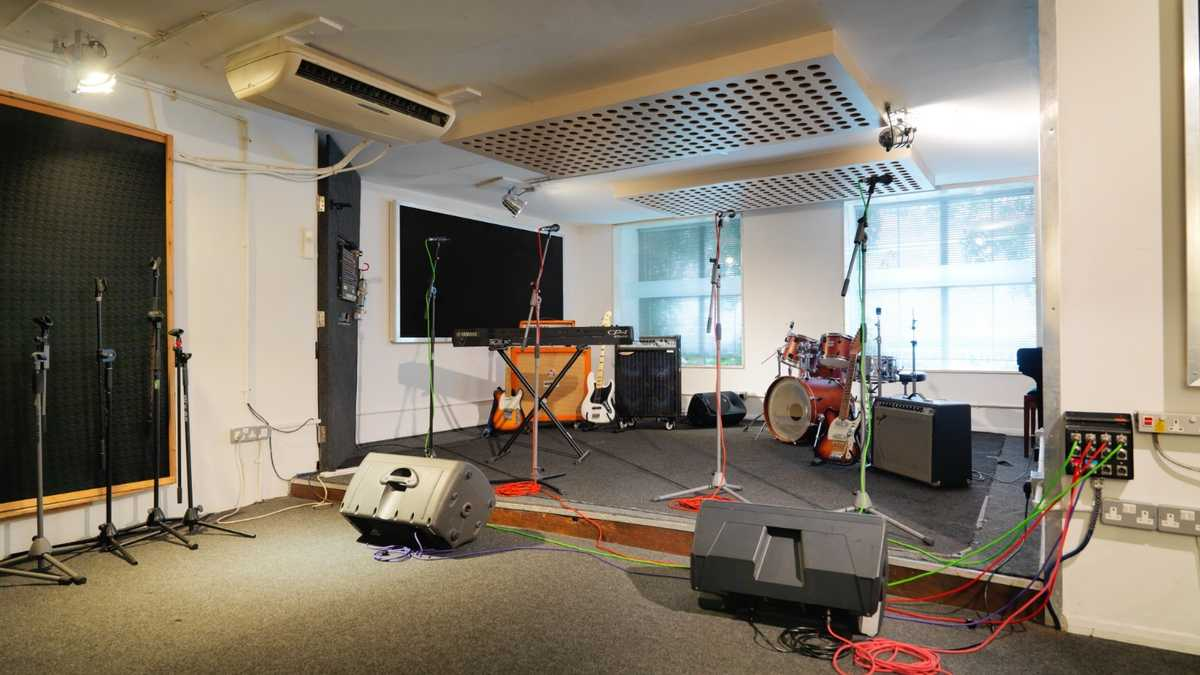 Premises studio 3 - Dry hire only (backline & pianos cost extra)