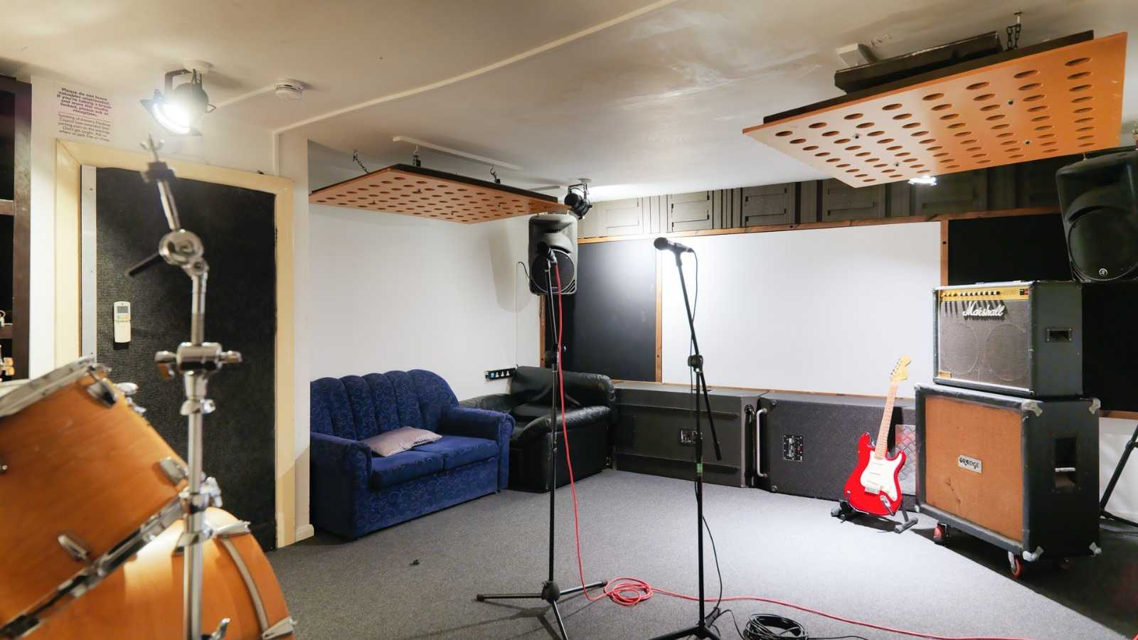 Premises studio 5 - Dry hire only (backline & pianos cost extra)