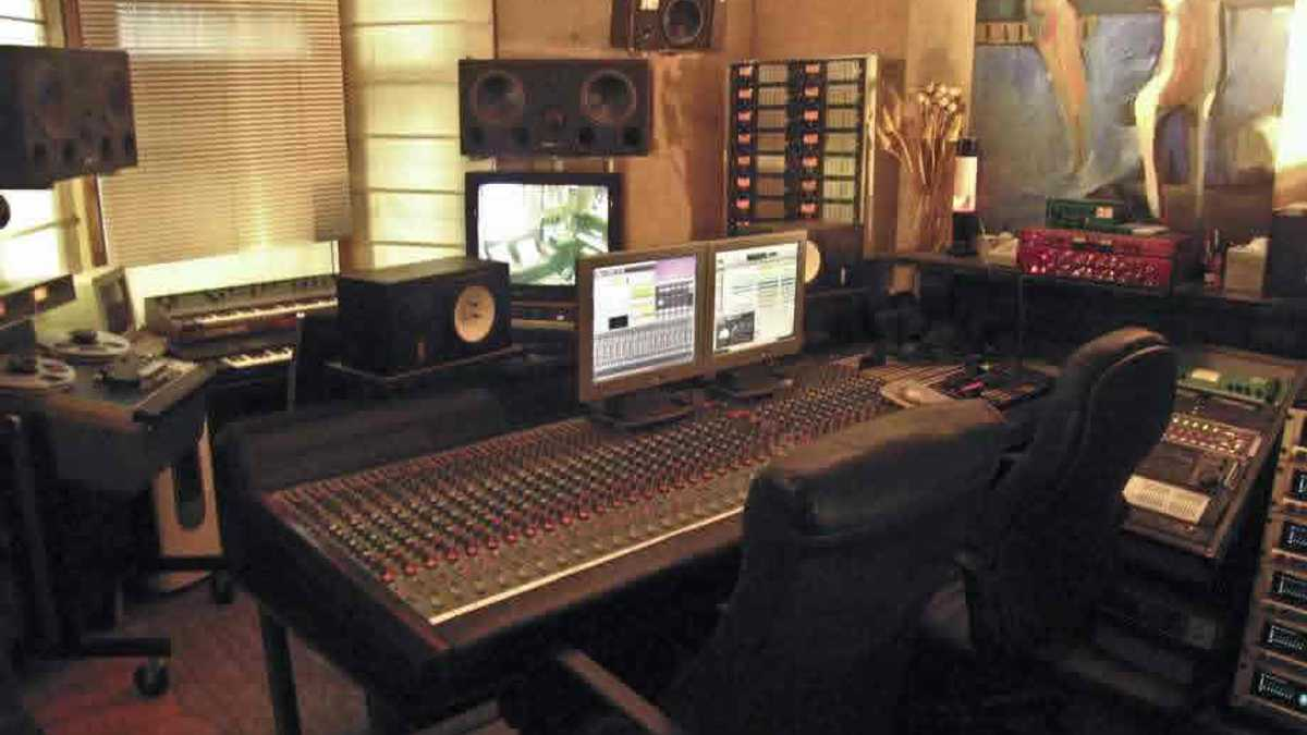 Main studio (Studio 1)