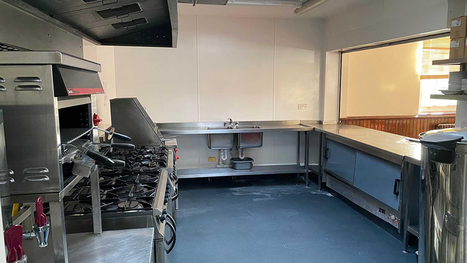 Minimal Industrial Kitchen
