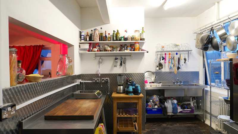 Commercial catering Kitchen