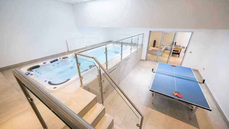 Pool & Game Room