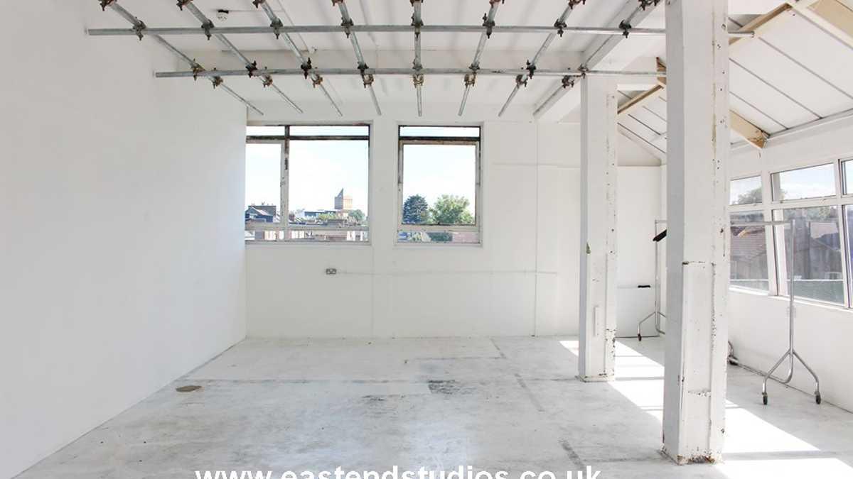 White room and corridor