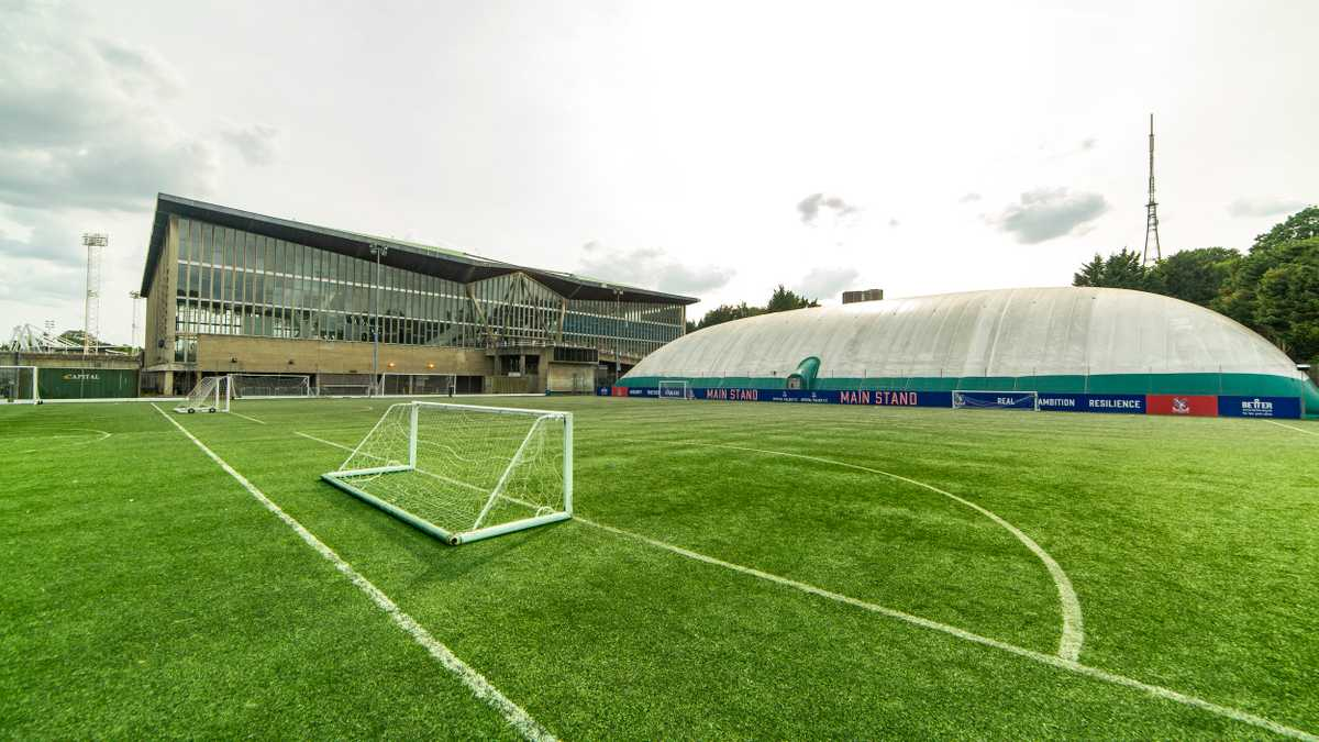 Outdoor football pitch 1