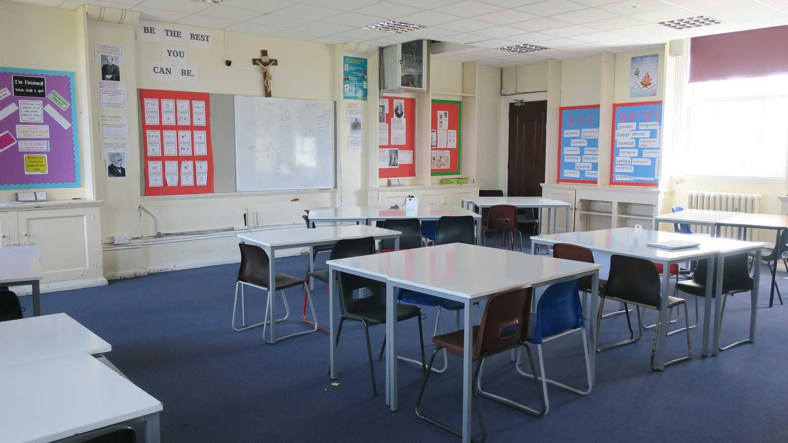 Blue Classroom