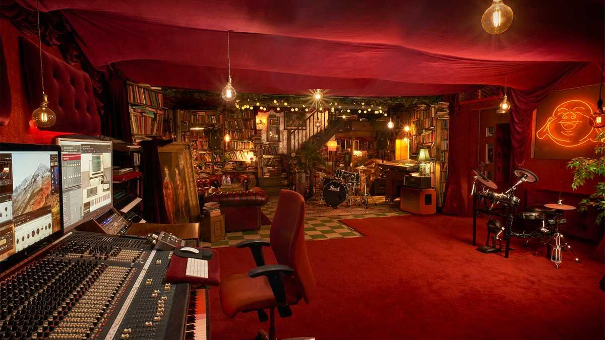 Boutique recording studio