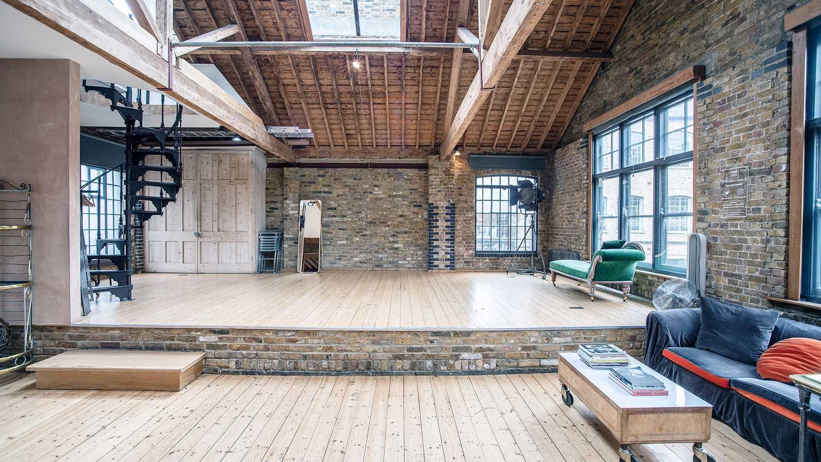 Split level studio