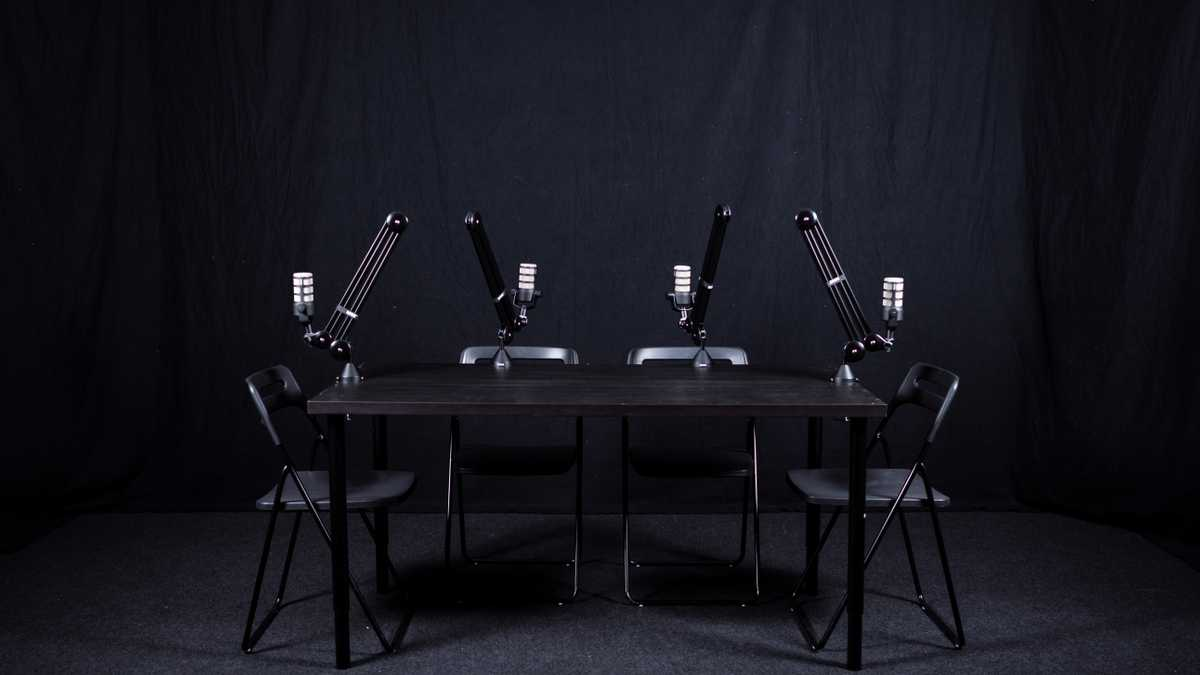 Podcast Studio (Black Out)