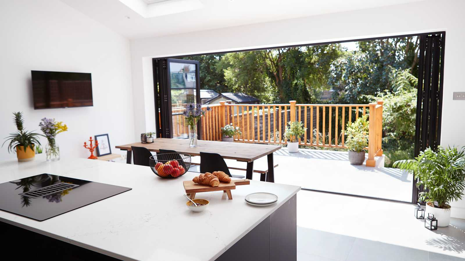 Natural light kitchen extension