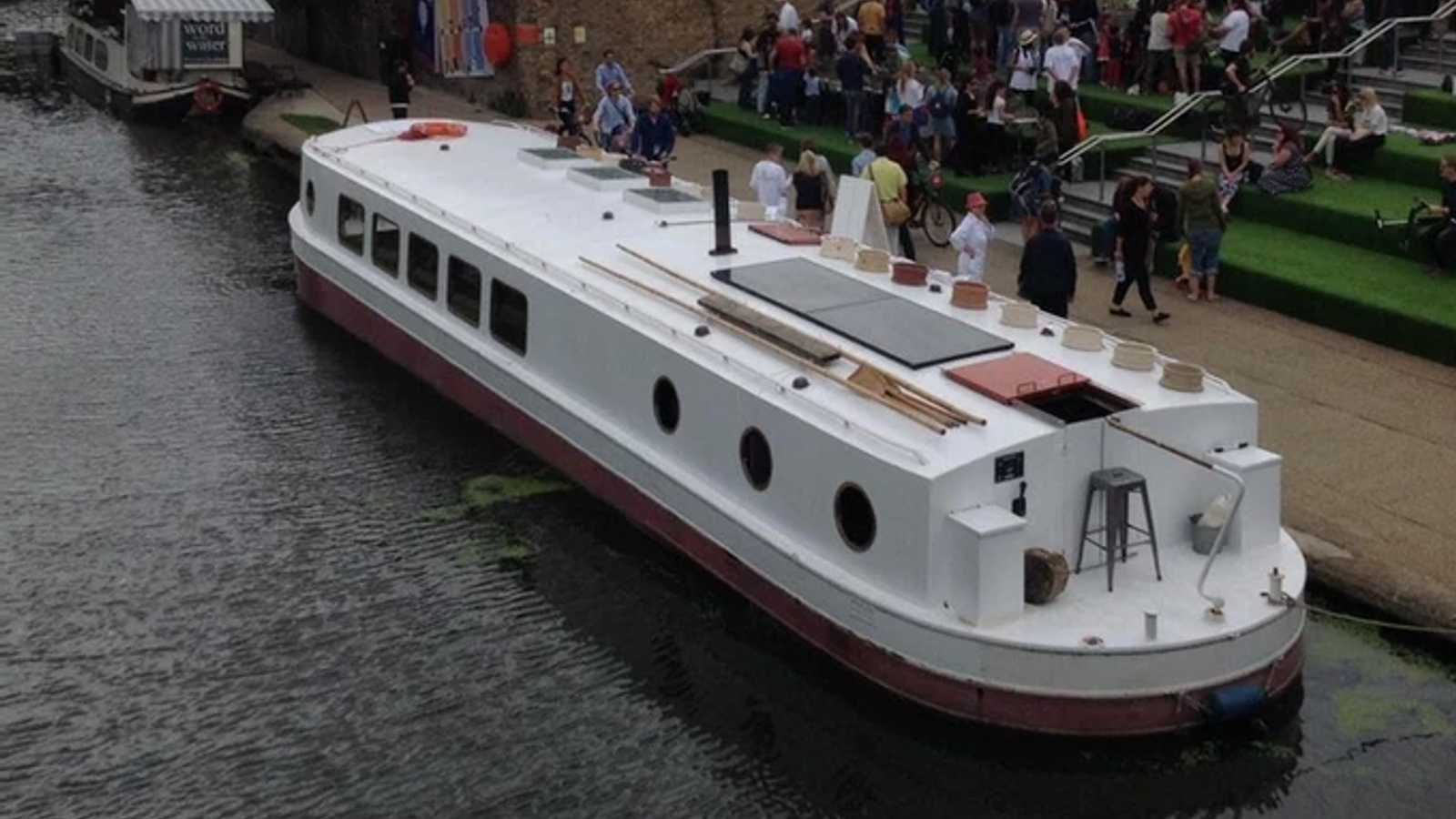 60ft canal barge