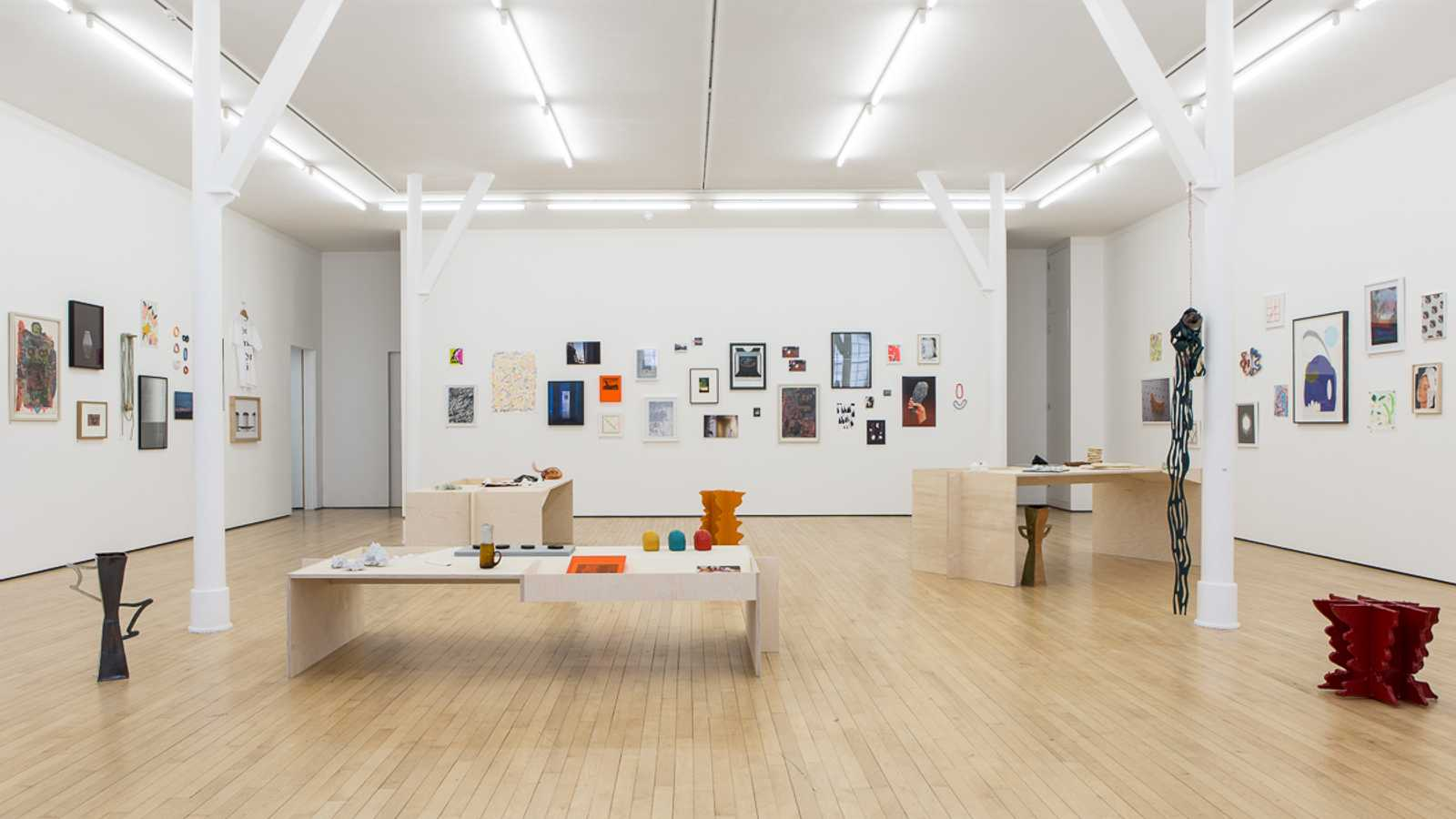 1500 sq ft gallery space