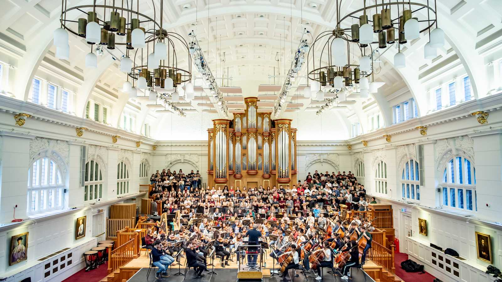 The Amaryllis Fleming Concert Hall