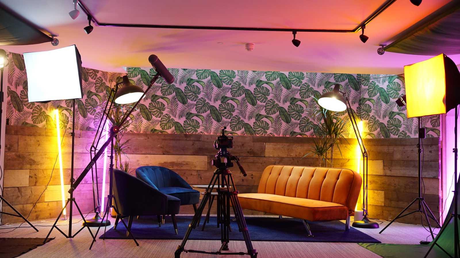 Basement film studio